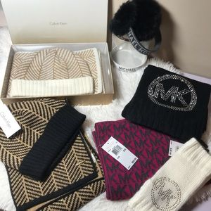 Michael Kors and Calvin Klein Winter Accessories